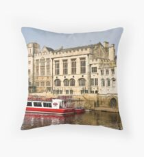 Riverboat Throw Pillow