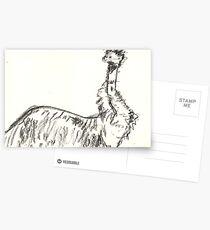 Bemused Emu Postcards