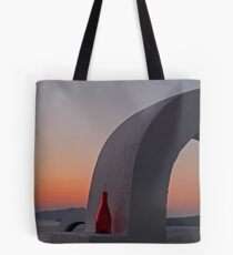 Cyclades Sunset Tote Bag