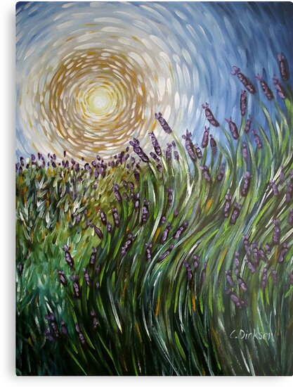 Lavender in Motion by Cherie Roe Dirksen