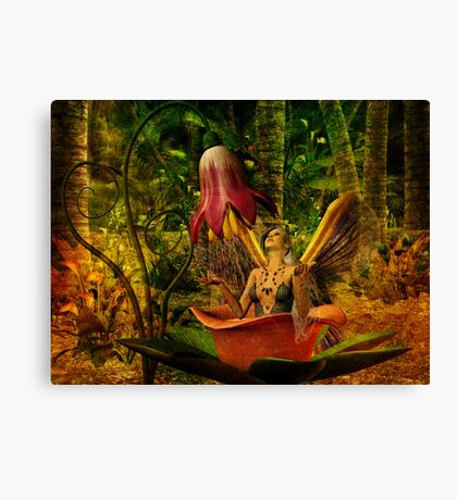 Where Fairies Hide Canvas Print