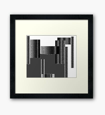 A Lack of Support Framed Print