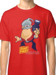 George Shot First Classic T-Shirt