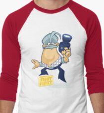 George Shot First Men's Baseball ¾ T-Shirt