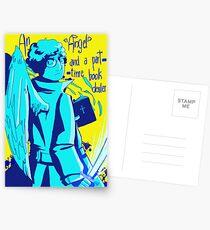 Aziraphale Postcards