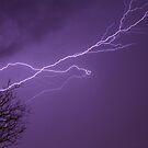 Lightning in Missouri. by Gregg Williams