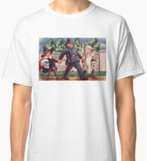 Young Gravediggers  (Vintage Halloween Card) Classic T-Shirt