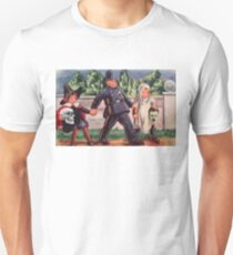 Young Gravediggers  (Vintage Halloween Card) Unisex T-Shirt