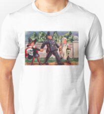 Young Gravediggers  (Vintage Halloween Card) Unisex T-Shirt