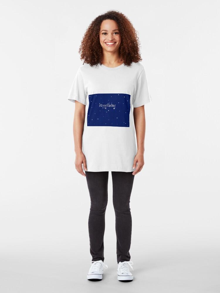Alternative Ansicht von Happy End Slim Fit T-Shirt