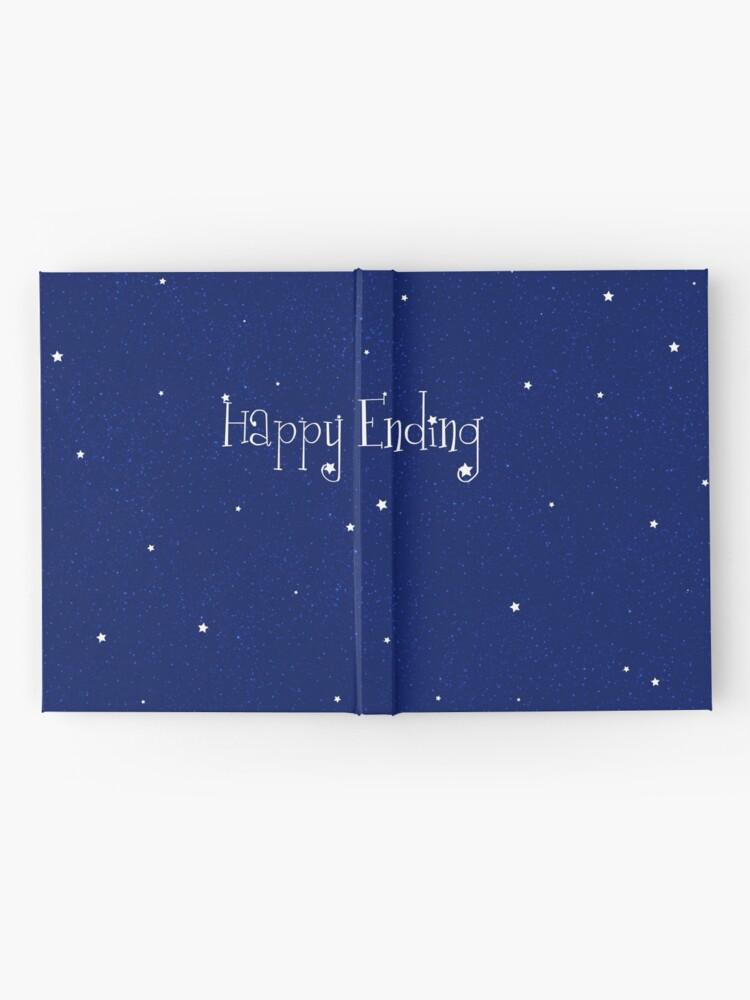 Alternative Ansicht von Happy End Notizbuch