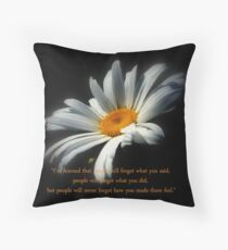 Iv'e Learned .. Throw Pillow