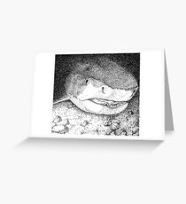Bull Shark Greeting Card