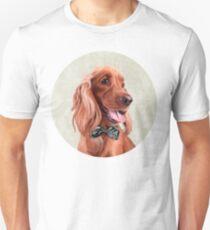 Mr. English Cocker Spaniel portrait Unisex T-Shirt