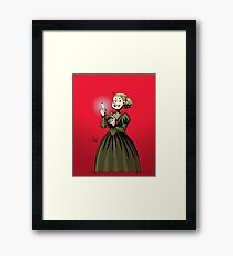 Marie Curie and the Radium 2. Framed Print