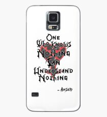 Kingdom Hearts: Ansem quote Case/Skin for Samsung Galaxy
