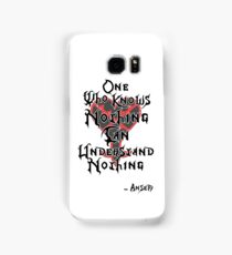 Kingdom Hearts: Ansem quote Samsung Galaxy Case/Skin