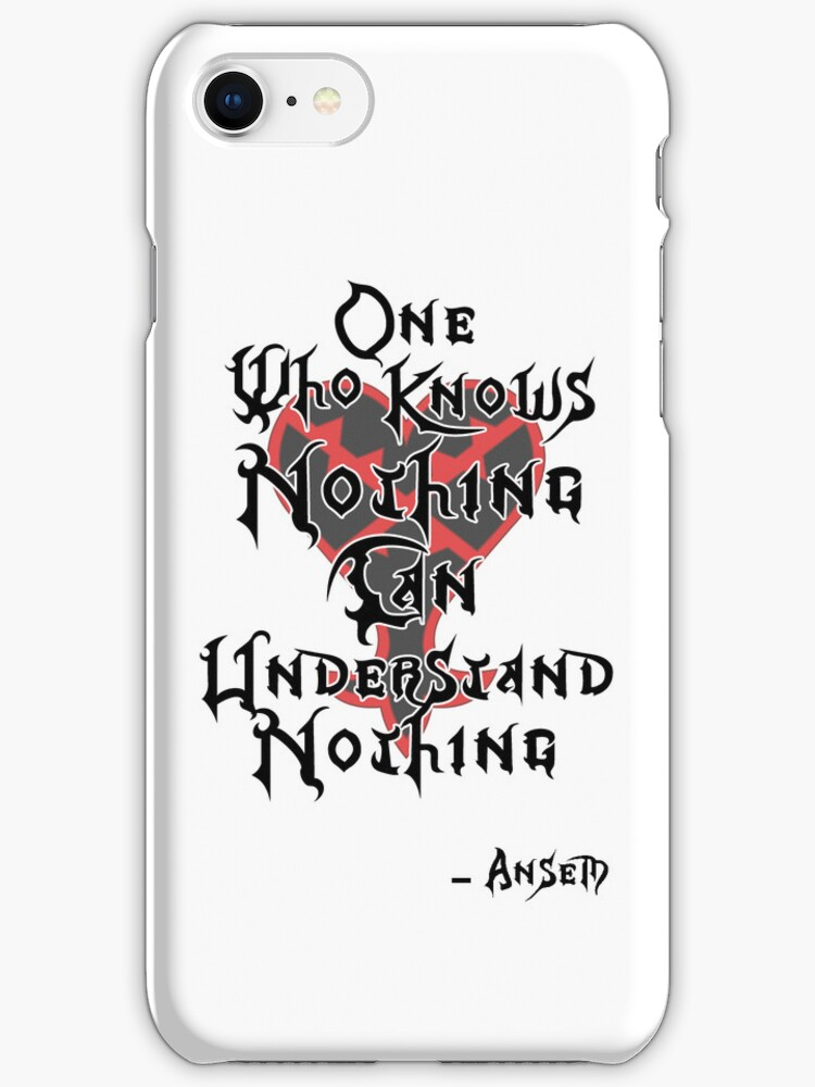 Kingdom Hearts: Ansem quote by Kingofgraphics