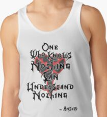 Kingdom Hearts: Ansem quote Tank Top