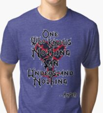 Kingdom Hearts: Ansem quote Tri-blend T-Shirt