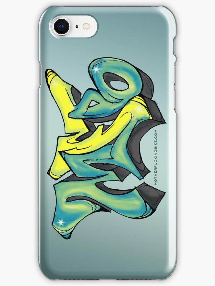 MFB Graffiti iPhone case by MFBike