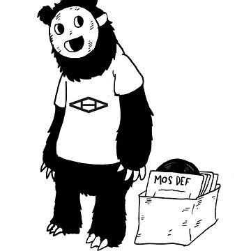 AAHIPHOP D.I.T.C Bear by aahiphop