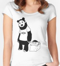 AAHIPHOP D.I.T.C Bear Women's Fitted Scoop T-Shirt