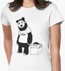 AAHIPHOP D.I.T.C Bear Women's Fitted T-Shirt
