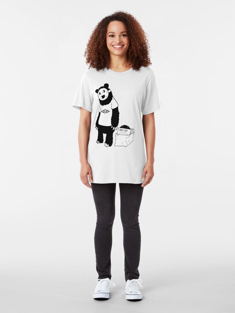 Alternate view of AAHIPHOP D.I.T.C Bear Slim Fit T-Shirt