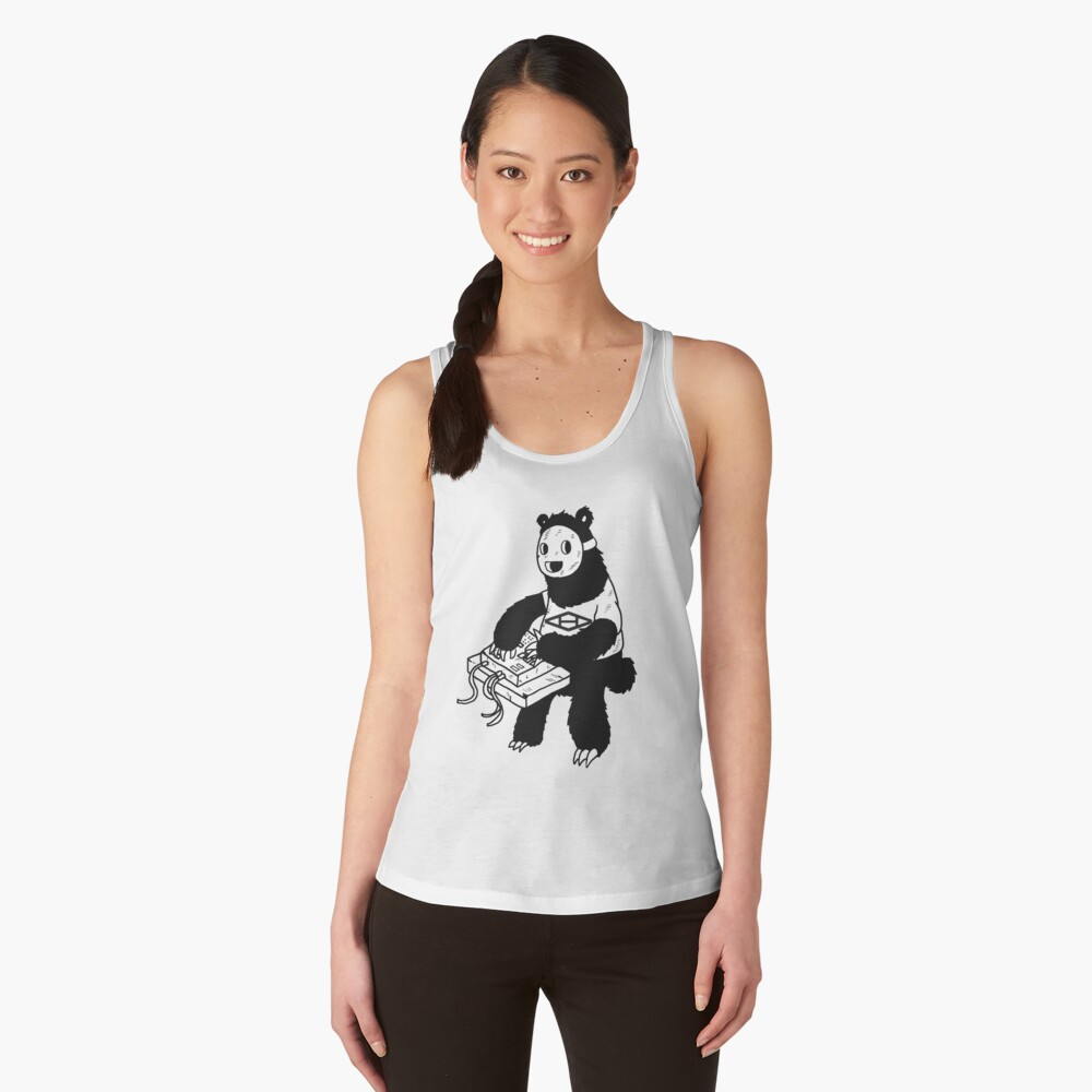 AAHIPHOP MPC Bear Women's Tank Top Front
