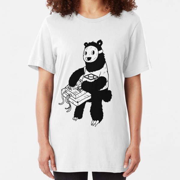 AAHIPHOP MPC Bear Slim Fit T-Shirt