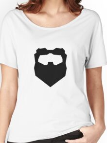 Troy & Abed Evil Moustache Women's Relaxed Fit T-Shirt