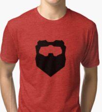 Troy & Abed Evil Moustache Tri-blend T-Shirt