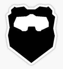 Troy & Abed Evil Moustache Sticker
