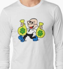 Community Dean with Money Long Sleeve T-Shirt
