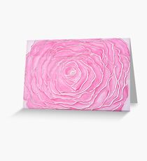 "Rose Water - Acrylic Paint - 36"" by 24"" Greeting Card"