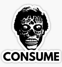 They Live - Consume Sticker