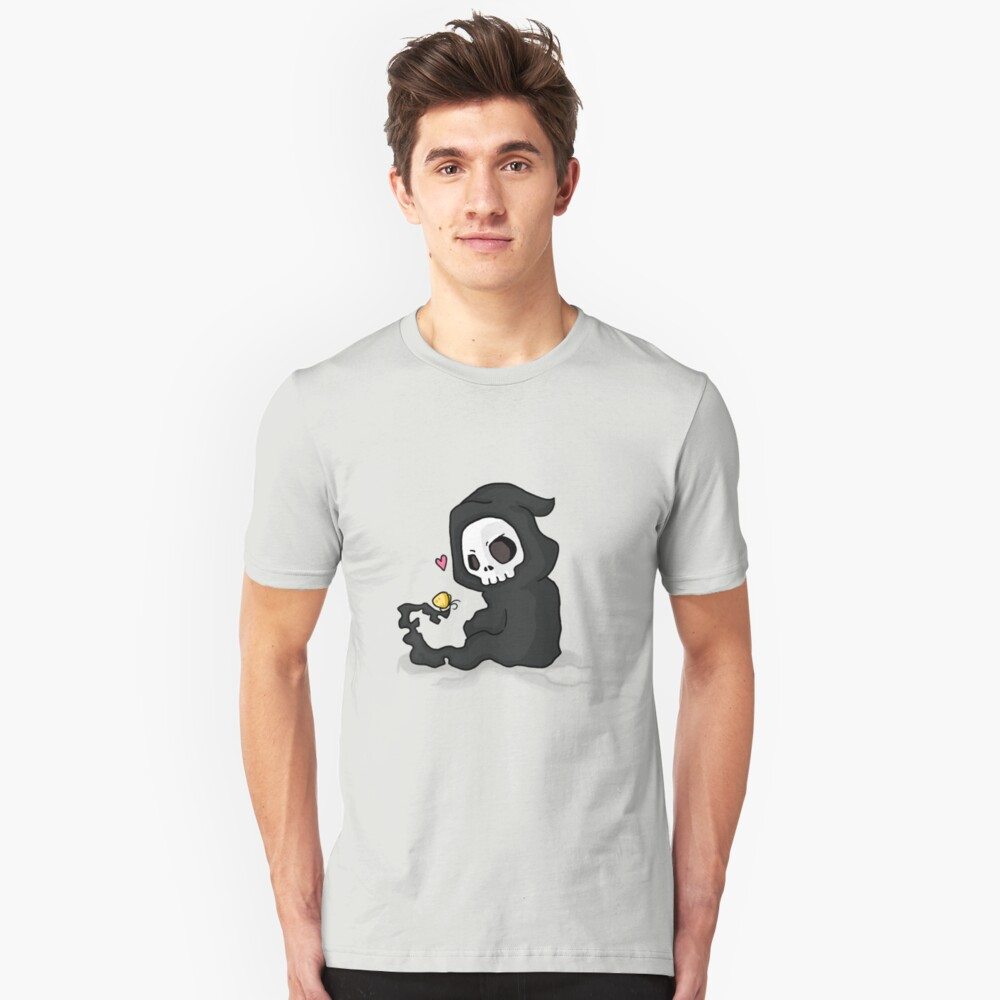 cute death Unisex T-Shirt Front