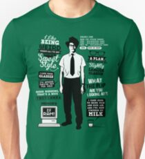 Moss Quotes  Slim Fit T-Shirt
