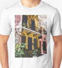 Colorful Vintage Hotel in Latin America T-Shirt