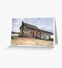 Cundy's Harbor Maine Greeting Card