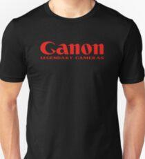 Ganon Legendary Cameras  Unisex T-Shirt