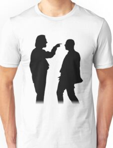Bottom silhouette - Richie and Eddie Unisex T-Shirt
