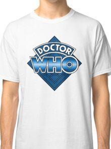 Doctor Who Diamond Logo - Blue Classic T-Shirt