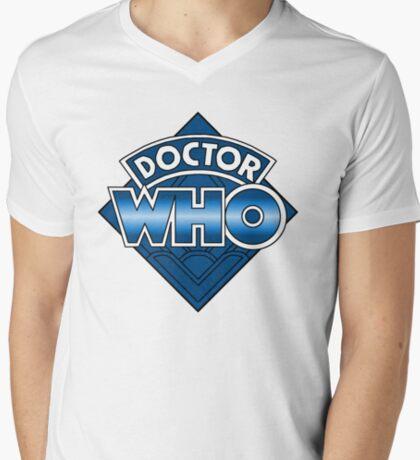 Doctor Who Diamond Logo - Blue T-Shirt
