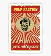 Pulp Faction - Vincent Sticker