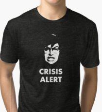 Garret Crisis Alert  Tri-blend T-Shirt