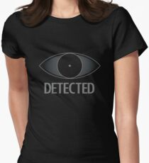 Detected Women's Fitted T-Shirt