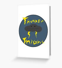 Thunder Thighs Greeting Card