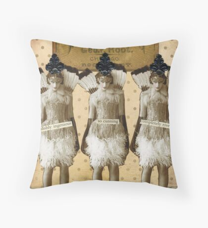 Triumph! Throw Pillow